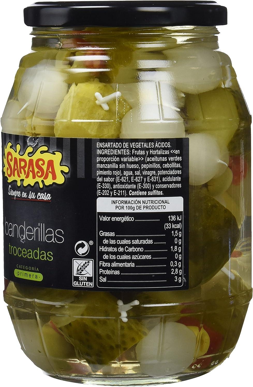 Sarasa Banderillas Dulces Troceadas - Paquete de 6 x 1400 gr ...