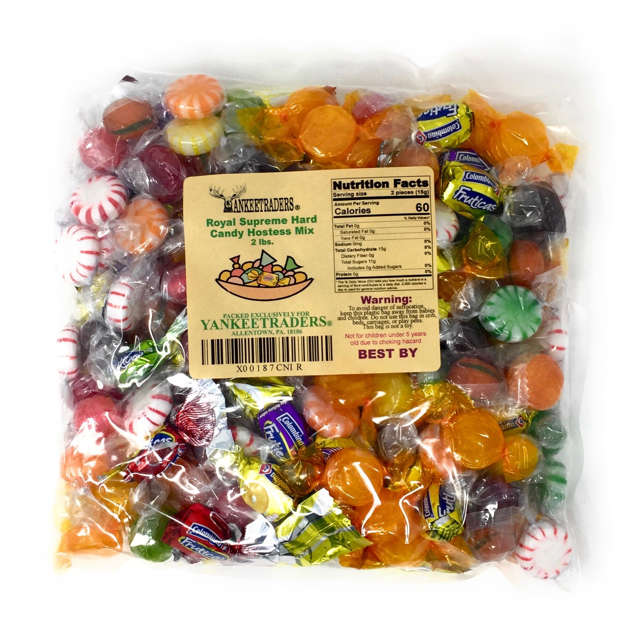 Hostess Party Mix, Wrapped Hard Candy Assortment - 2 Lbs