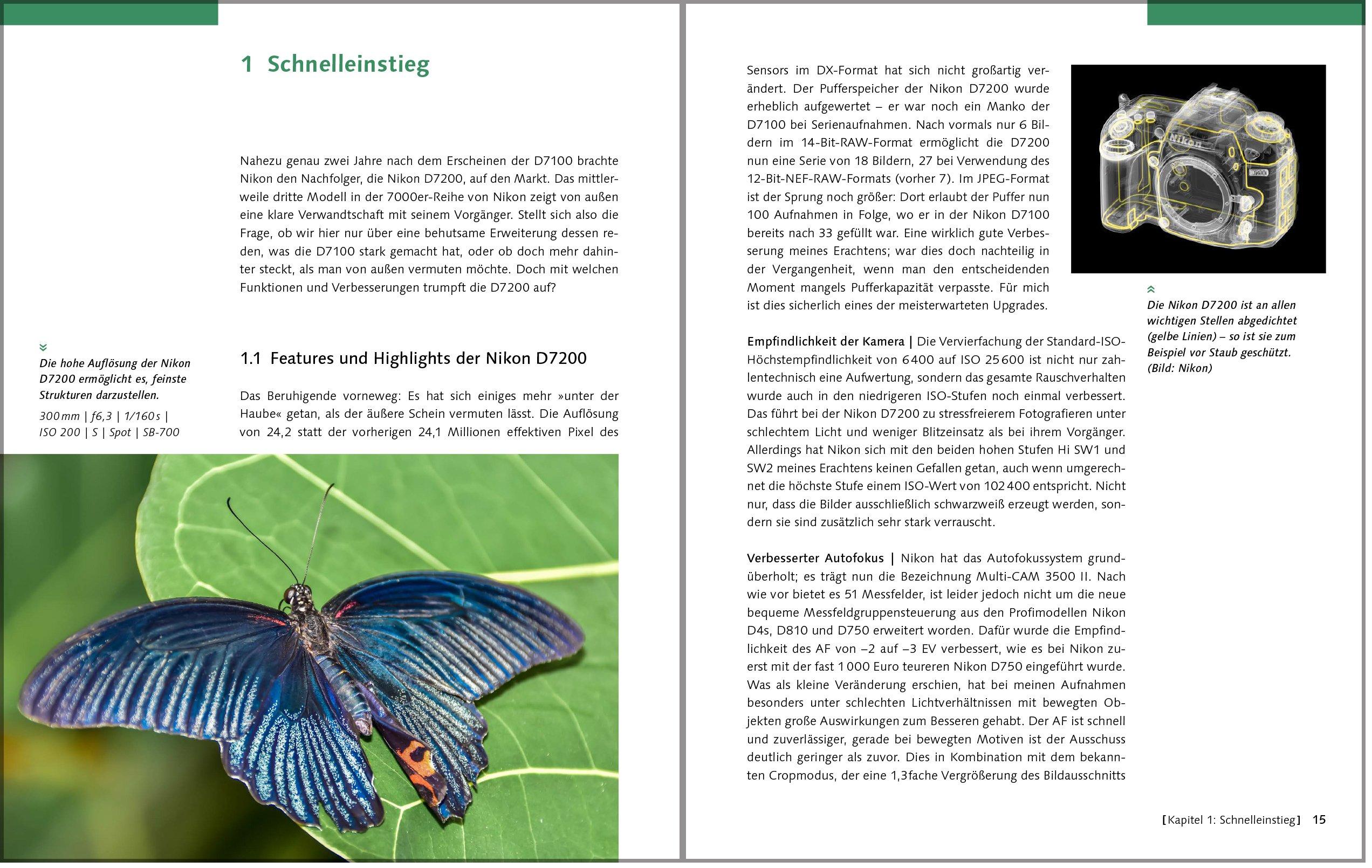 Nikon D7200. Das Kamerahandbuch: Ihre Kamera im Praxiseinsatz ...