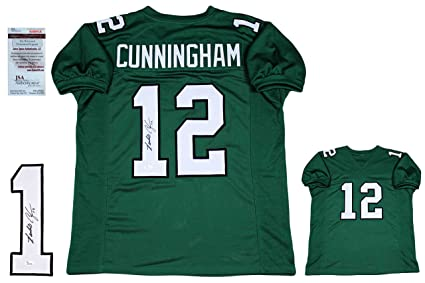 63430724d Randall Cunningham Signed Custom Jersey - JSA Witness - Autographed ...