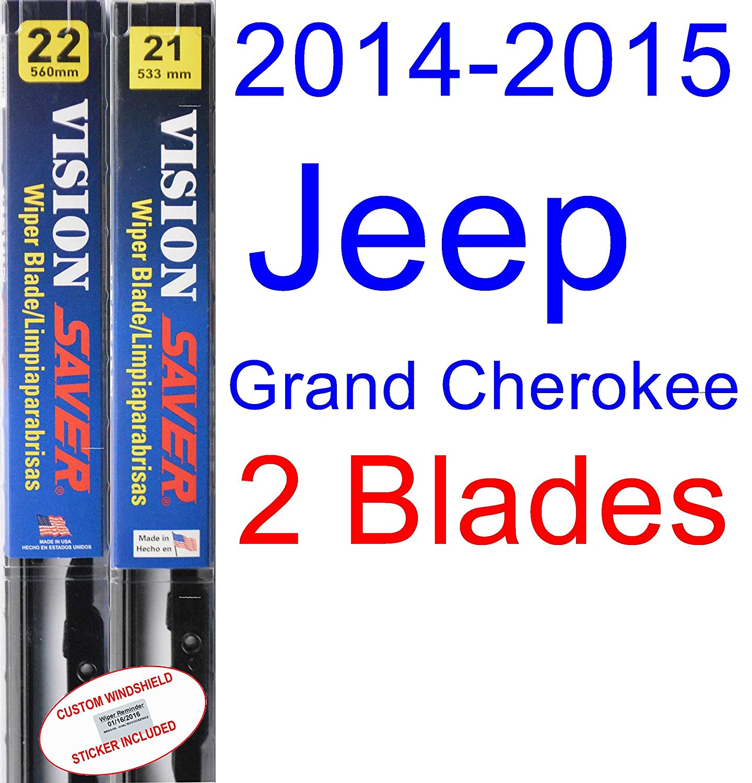 Amazon.com: 2014-2015 Jeep Grand Cherokee Wiper Blade (Driver) (Saver Automotive Products-Vision Saver): Automotive