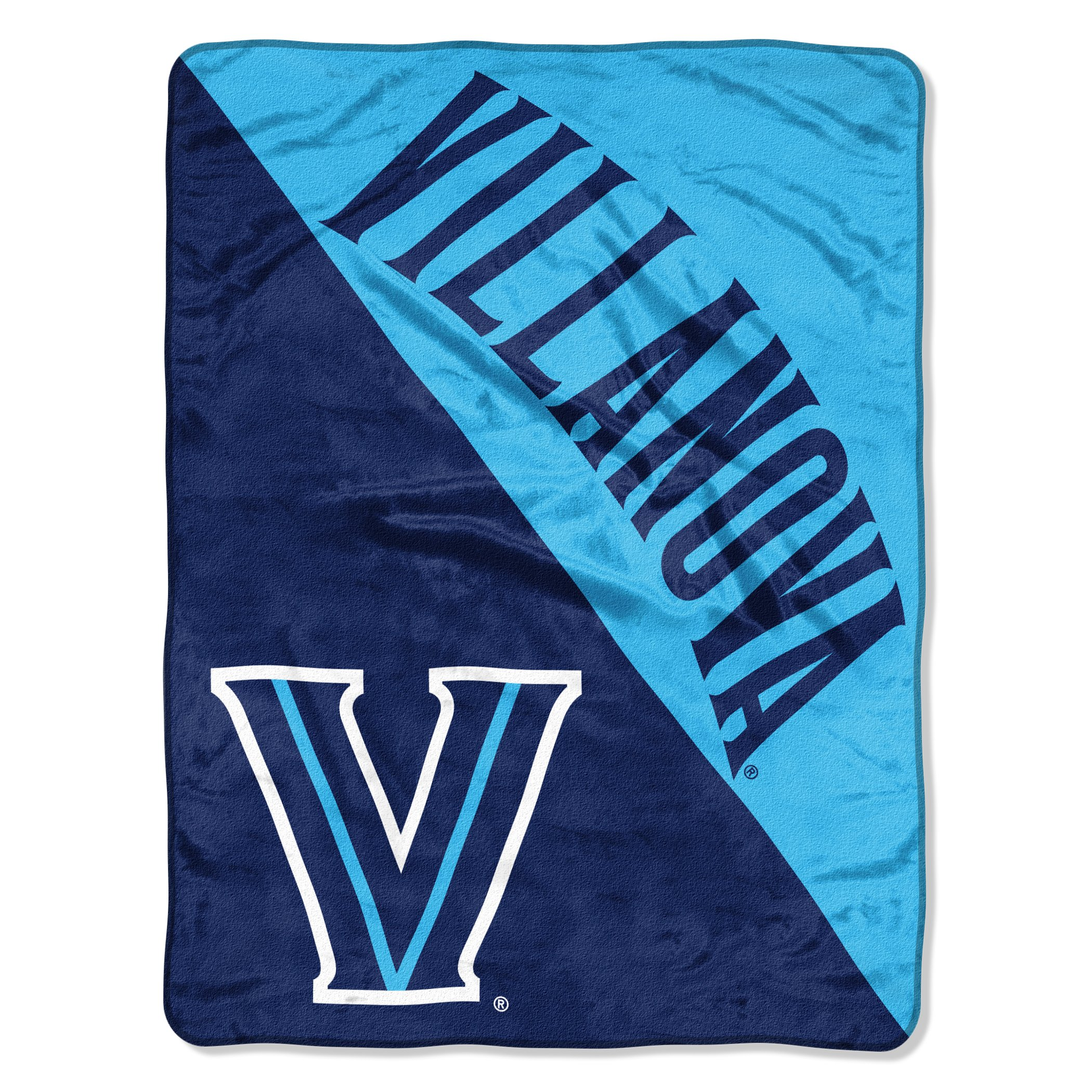 The Northwest Company Officially Licensed NCAA Villanova Wildcats Halftone Micro Raschel Throw Blanket, 46'' x 60'', Multi Color by The Northwest Company