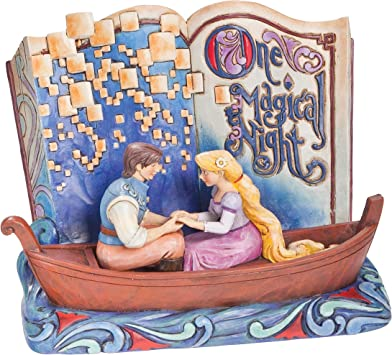 Amazon Com Disney One Magical Night Storybook Tangled Hand Painted 4043625 Rapunzel Home Kitchen