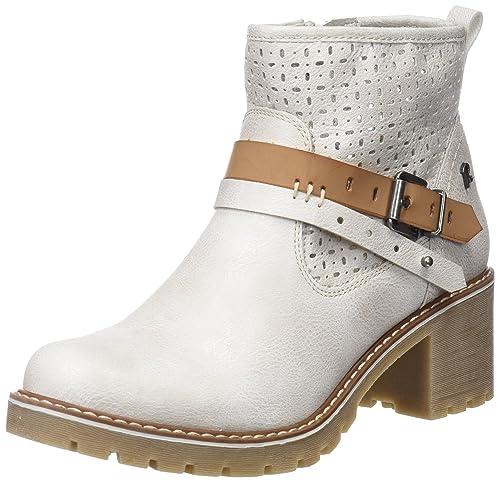 Refresh 64221, Botines para Mujer, Plateado (Silver), 38 EU: Amazon.es: Zapatos y complementos