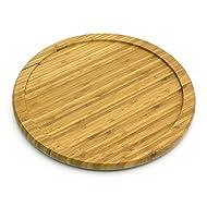 "Lipper International 8304 Bamboo Wood 14"" Kitchen Turntable"