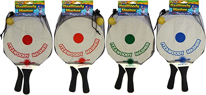 Amazon.com: Deportes de Agua itzawoodymasher Paddleball ...