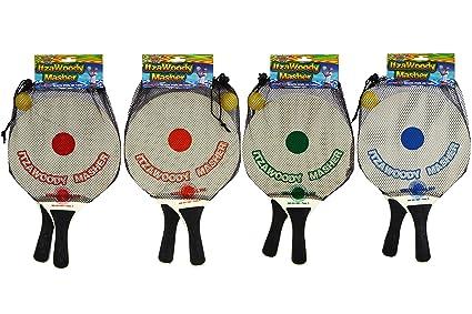 Water Sports ItzaWoodyMasher Paddleball Set