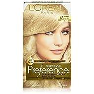 L'Oréal Paris Superior Preference Permanent Hair Color, 9A Light Ash Blonde