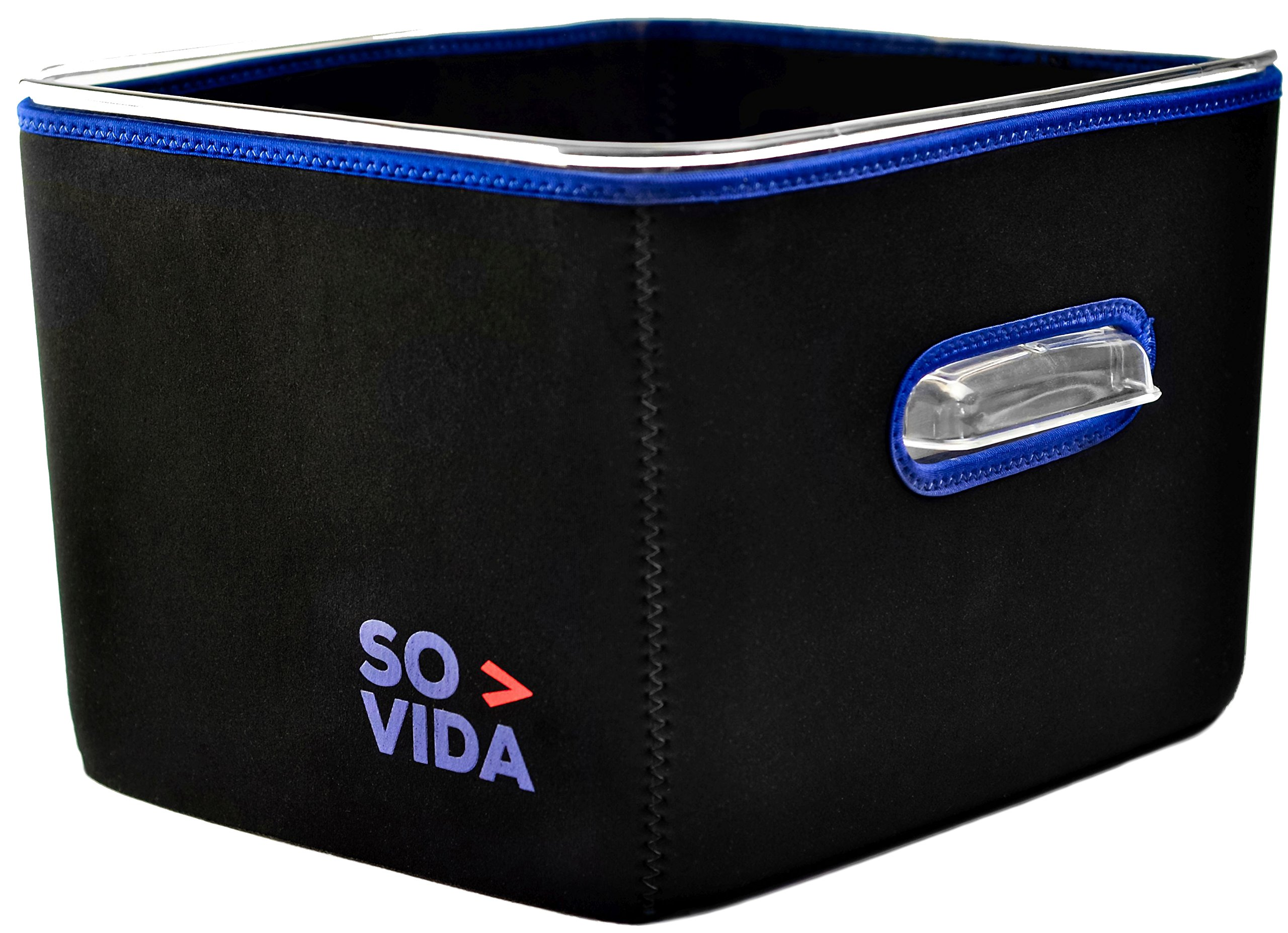 SO-VIDA Sous Vide Container Sleeve For The Rubbermaid 12 Quart (18 & 22 Qt Available) - Protects Your Work Surfaces and Saves You Electricity From Increased Insulation by SO-VIDA