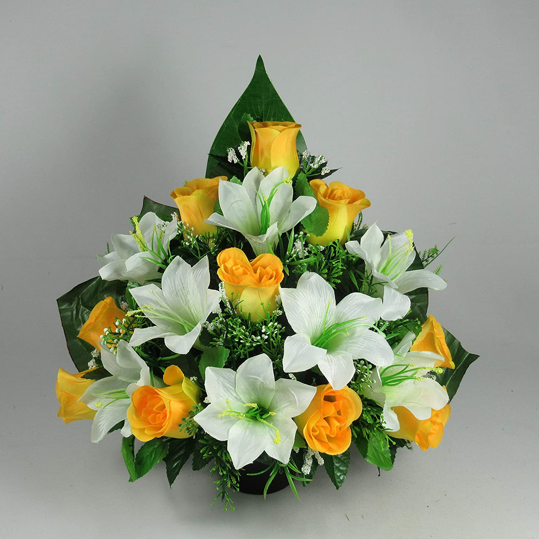 Artificial Flower Arrangements For Graves The Flowers Ideas