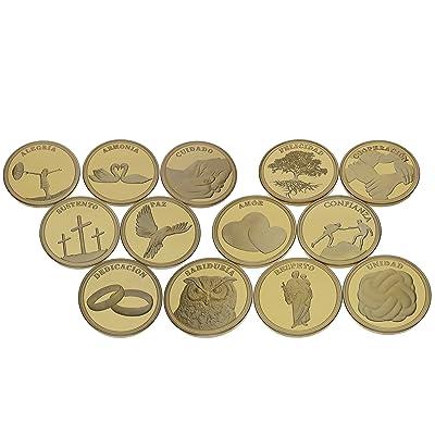 13Spanish Coins–Arras de Bodas