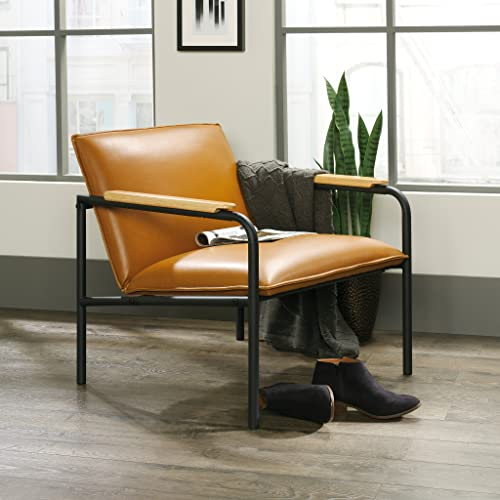 Sauder Boulevard Caf Lounge Chair, Camel finish