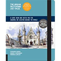 The Urban Sketching Art Pack: A Guide Book and Sketch Pad for Drawing on Location Around the World―Includes a 112-page…