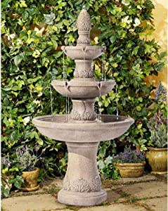 Domanico Outdoor Floor Water Fountain 57