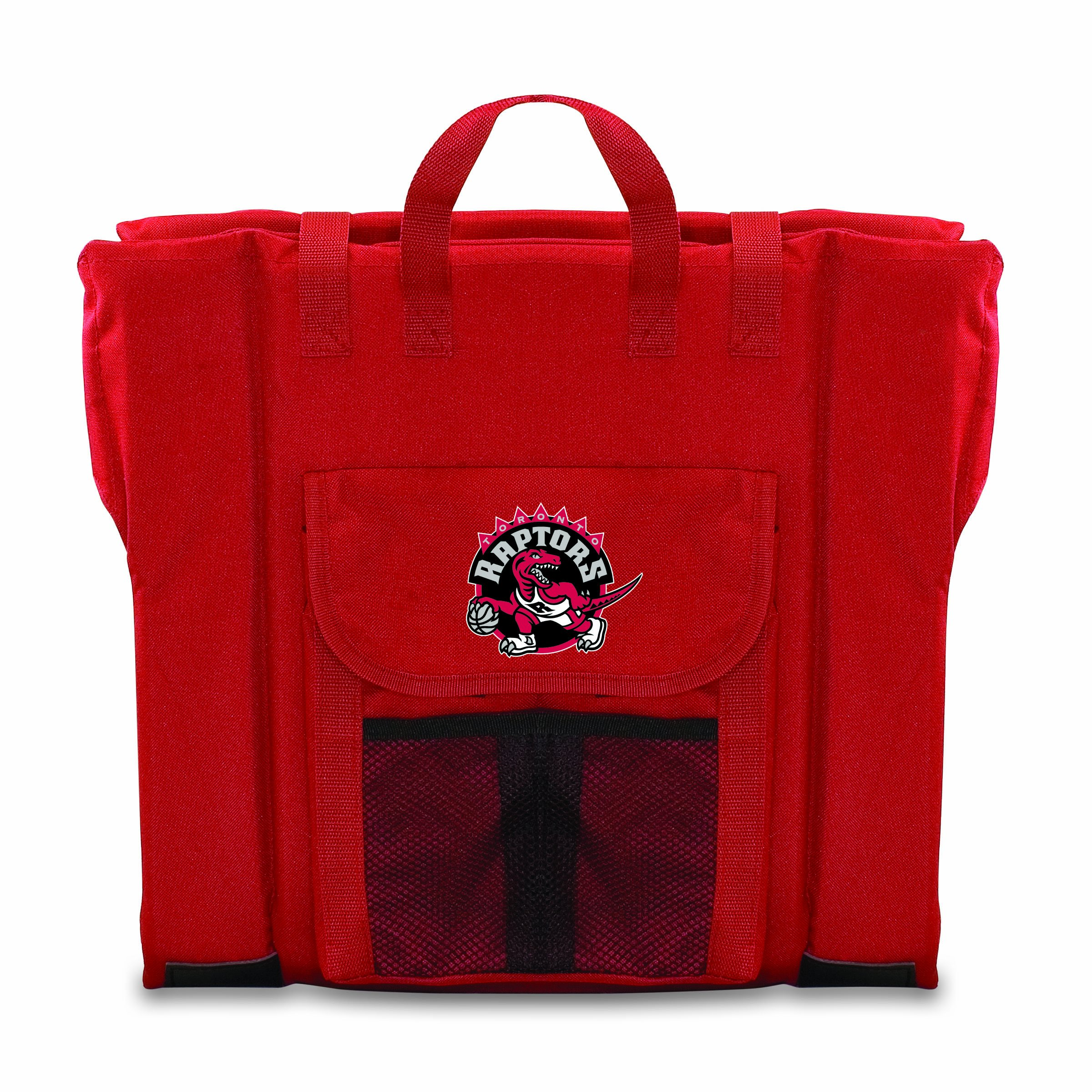 PICNIC TIME NBA Toronto Raptors Portable Stadium Seat, Red by PICNIC TIME