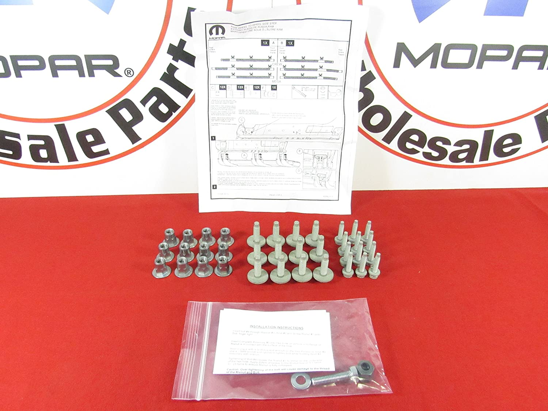 DODGE RAM 1500 2500 3500 4500 5500 sidestep hardware mounting kit NEW OEM MOPAR 68193128AB