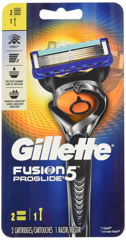 Gillette Fusion5 ProGlide Men's Razor - Handle & 2 Blade Refills Procter and Gamble