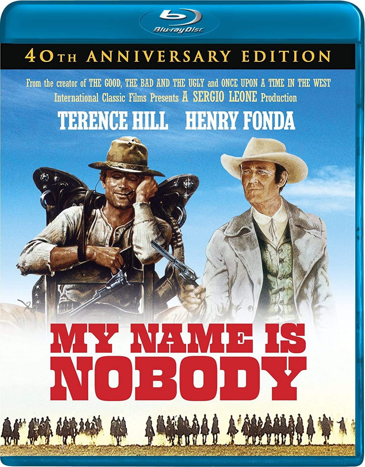 My Name Is Nobody [Blu-ray] Terence Hill Henry Fonda Tonino Valerii 27724517