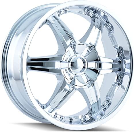 Dip Rims In Chrome >> Dip Wicked D39 Chrome Wheel 24x9 5 10x115mm