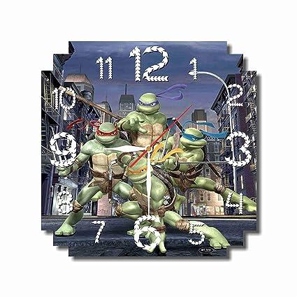 Amazon Com Art Time Production Teenage Mutant Ninja Turtles 11 4