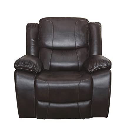 new photos 3f3d1 eef78 New Classic Kenwood Glider Recliner, Premier Brown