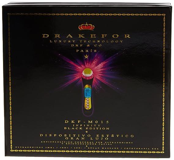 Drakefor DKF-Infinity Black - Dispositivo de renovacion facial y corporal: Amazon.es: Salud y cuidado personal