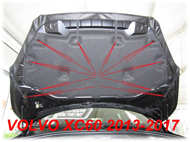 AB3-00164 BRA f/ür XC60 Bj 2013-2016 Haubenbra Steinschlagschutz Tuning Bonnet Bra Front