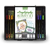 Crayola Signature Crayoligraphy Calligraphy Art Set, Hand Lettering Tutorials, Crafts Kit, Gift
