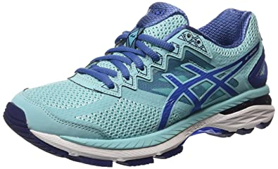 2a05affb2d ASICS Gt-2000 4, Women's Running Shoes, Blue (Turquoise/Indigo Blue