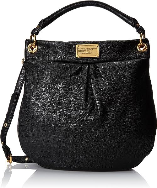 Amazon.com  Marc by Marc Jacobs Classic Hillier Hobo Hobo Handbag ... 6b661eea06