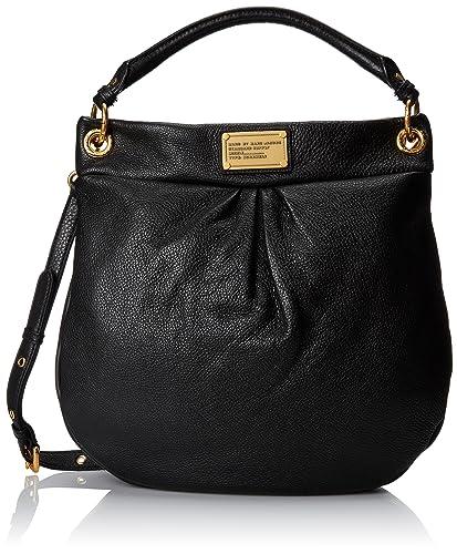 8f986a62100 Marc by Marc Jacobs Classic Hillier Hobo Hobo Handbag, Black, One ...