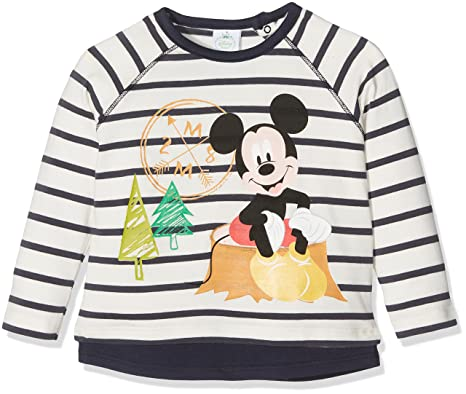 Disney 70449-Camiseta de Manga Larga Bebé-Niños Blau ...