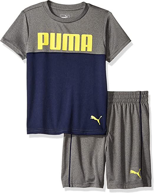 PUMA Little Boys Athletic Shorts