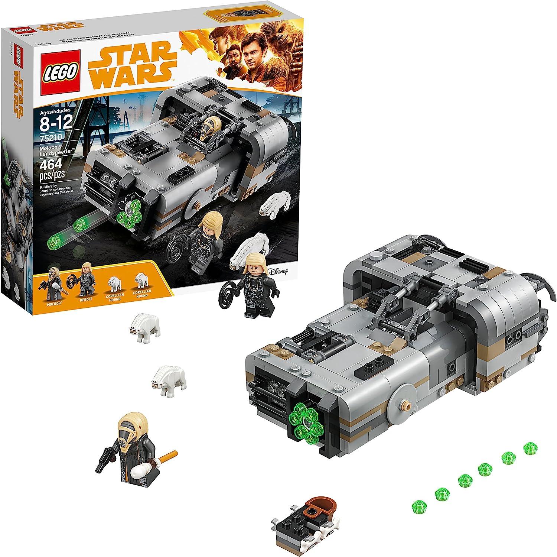 LEGO Star Wars Solo: A Star Wars Story Moloch's Landspeeder 75210 Building Kit (464 Piece)