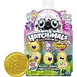 Hatchimals - Collezionabili Stagione 3 Confezione da 4 Uova + Bonus, 6041341