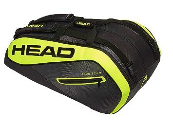 Head Extreme 12r Monstercombie - Bolsa para Raqueta de Tenis, Color Negro/Amarillo, tamaño Talla única: Amazon.es: Deportes y aire libre