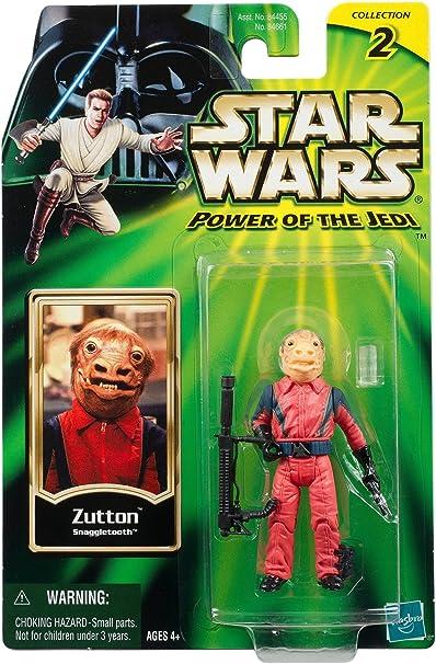 "Snaggletooth POTJ 2001 3.75/"" MOC FREE Shipping! Star Wars ZUTTON"