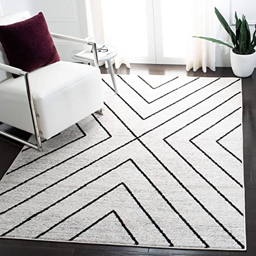 Safavieh Adirondack Collection ADR251A Modern Geometric Non-Shedding Stain Resistant Living Room Bedroom Area Rug
