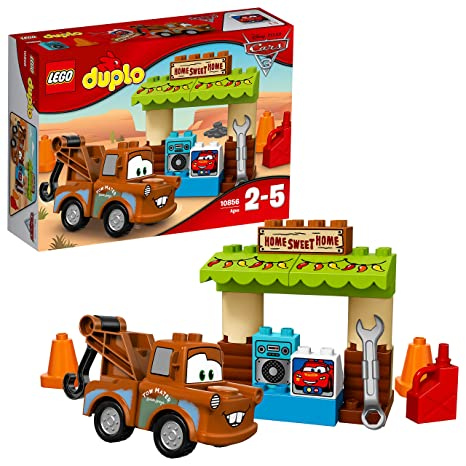 Amazoncom Lego Duplo Disney Cars 3 Maters Shed Toys Games