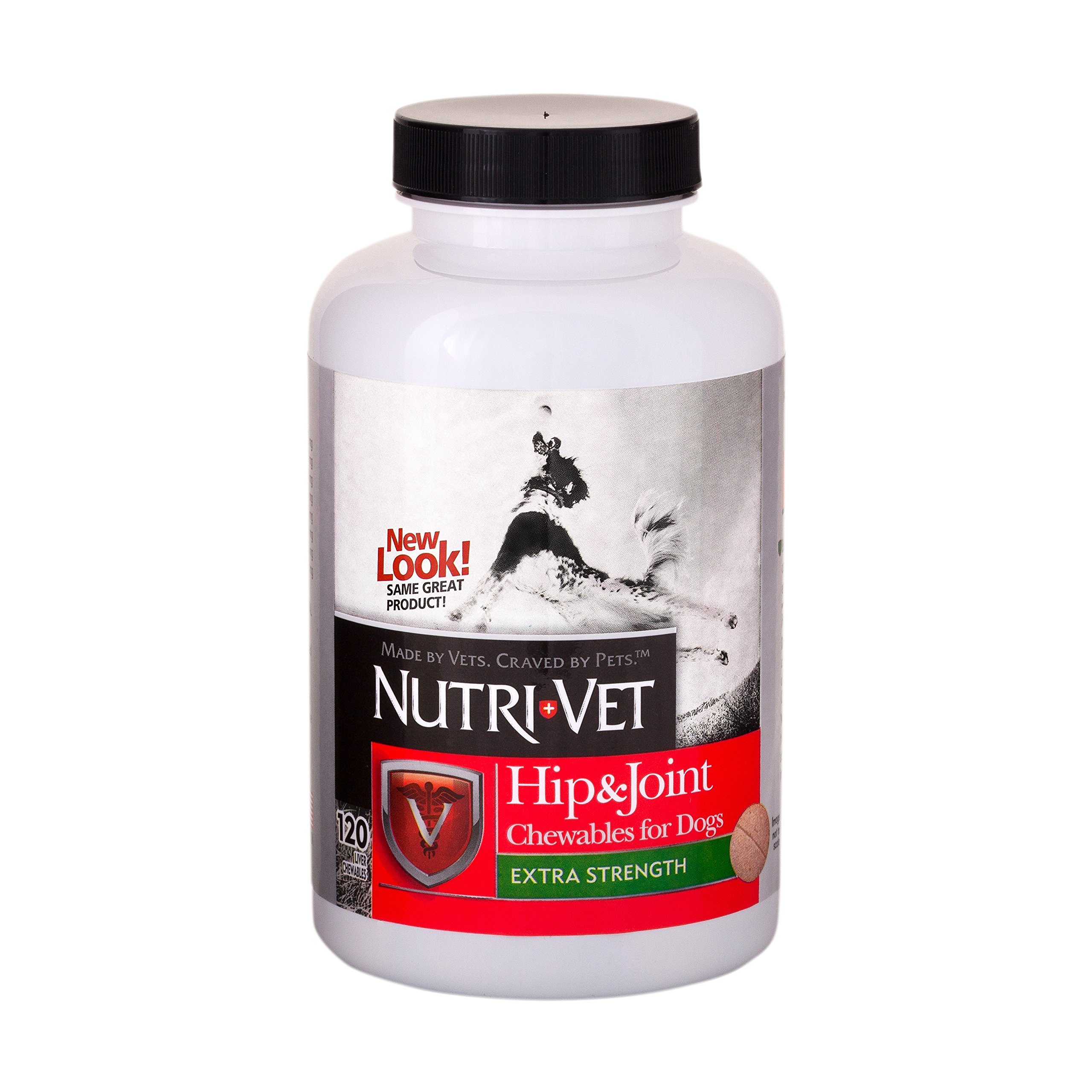 Nutri-Vet Hip & Joint Extra Strength Chewables for Dogs, 120 Count