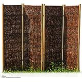 weiden paravent sines b240 x h160 cm garten. Black Bedroom Furniture Sets. Home Design Ideas
