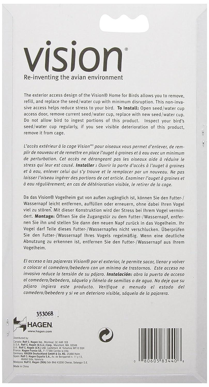 Vision Tazas para Semilla y Agua, Color Terracota: Amazon.es ...