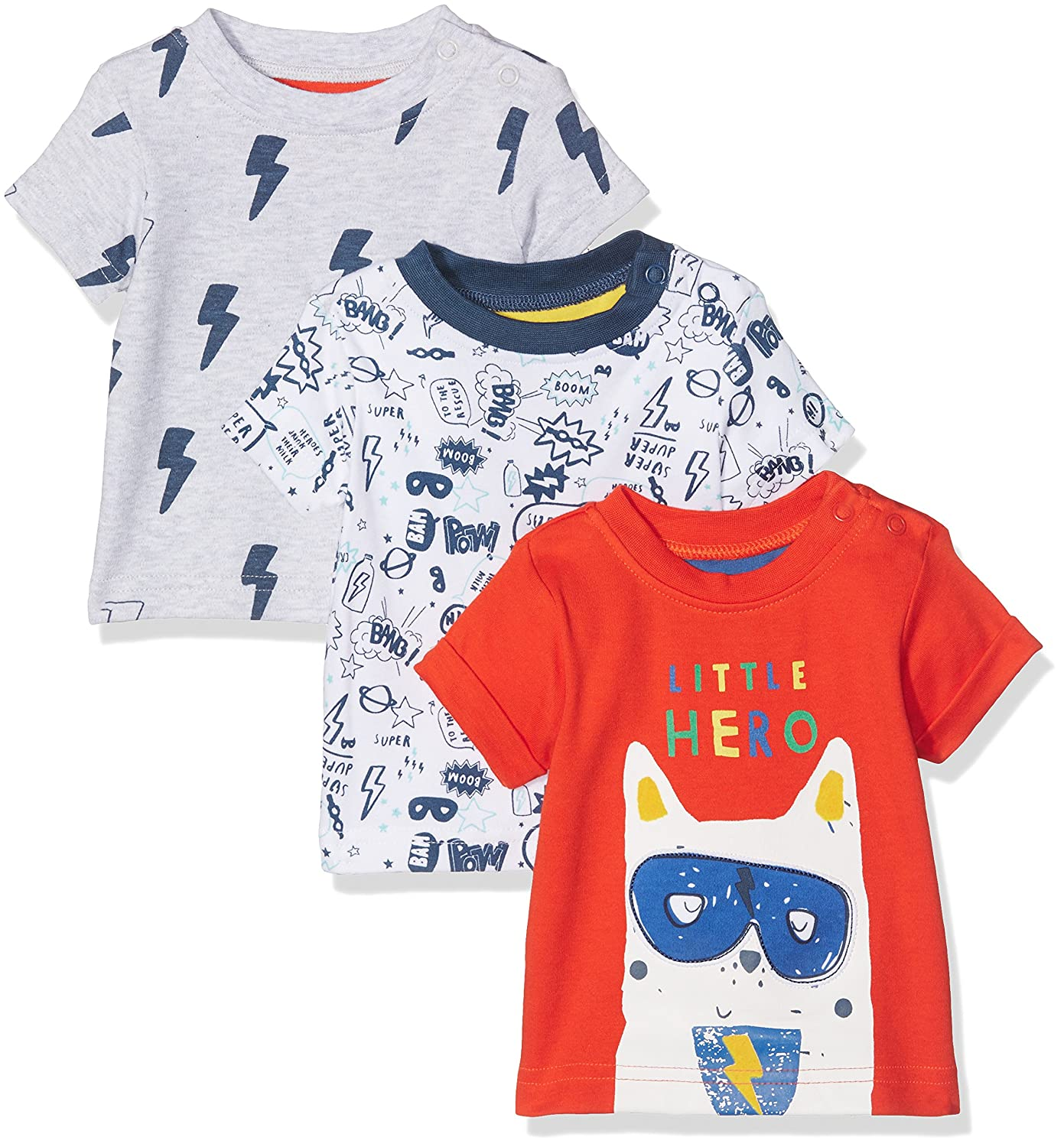 Mothercare Super Hero T-Shirts - 3 Pack
