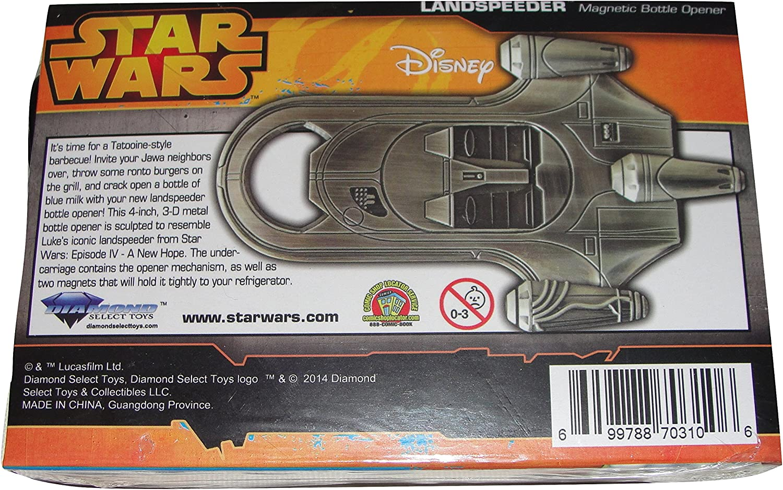 Star Wars Landspeeder Bottle Opener Entertainment Earth Exclusive Diamond Select DC70310W