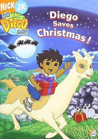 Amazon.com: Go Diego Go! - Diego Saves Christmas!: Adam Alexi ...
