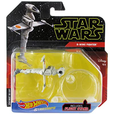 Hot Wheels Star Wars Starships B-Wing Fighter: Toys & Games