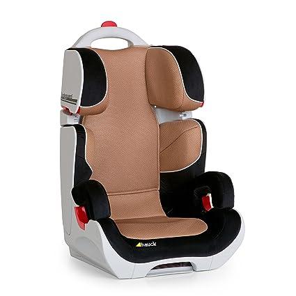 Hauck Bodyguard - Asiento de coche, grupo II/ III para niños de 3-12 años o 15-36 kg de peso, color negro/ marrón, talla 44 x 46.5 x 70 cm