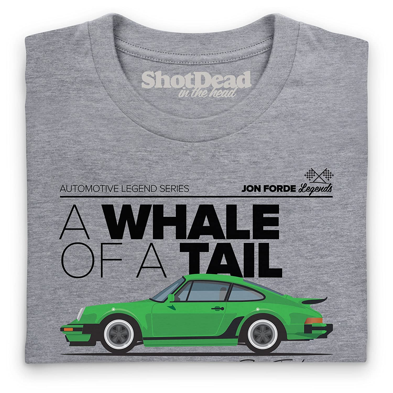 Shotdeadinthehead Jon Forde Whale of A Tail T-Shirt, Herren: Amazon ...