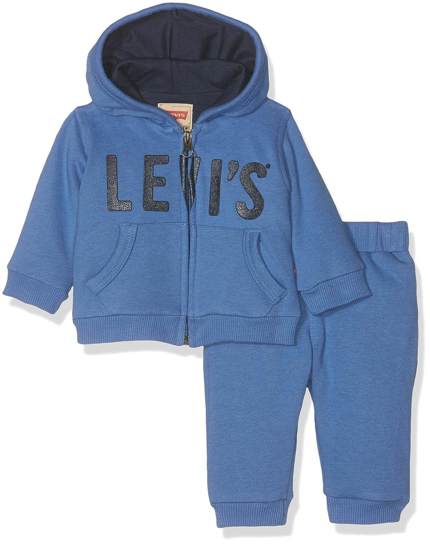 Levi's Kids Baby - Jungen Jogginganzug Set. Jog. Blau (Delft 43) Levi' s Kids NK35004