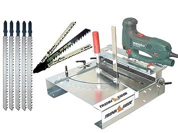 Bosch 012L-3 - Mesa de corte para sierra de calar (incluye hojas ...